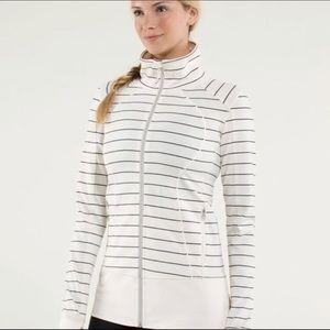 🍋Lululemon Nice Asana Jacket Slalom Stripe *RARE*